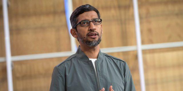 Google Boss Lands Bumper Pay Raise to Run Parent Alphabet