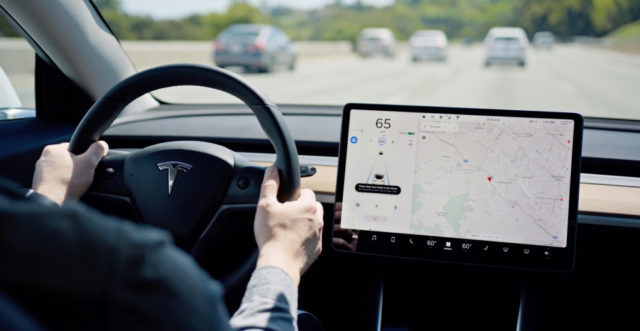 Tesla releases massive new update with text message reading, Autopilot, and more