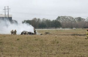 Sports reporter among 5 killed in fiery plane crash in Louisiana, 1 survivor rescued