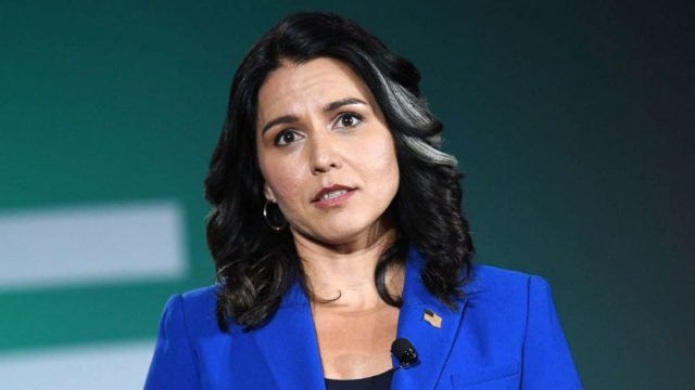 Rep. Tulsi Gabbard says impeachment will only 'embolden' Trump, increasing his reelection chances