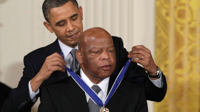 Outpouring of support follows Rep. John Lewis' cancer diagnosis
