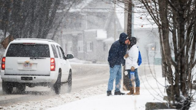 Storm moving out in east, new storm to move across U.S. to start new year