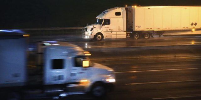 Truckers exempt from new California law they fought, judge rules