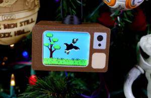 Duck Hunt's next platform? Your Christmas tree