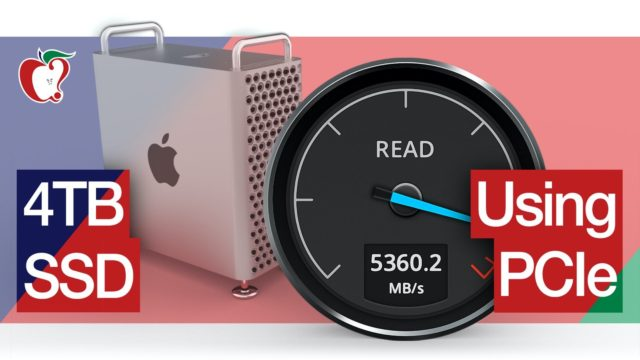 Mac Pro Hands-On: Adding Additional SSD Storage Using a PCIe Slot