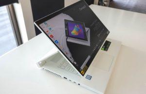 Acer's ConceptD 7 Ezel is a smaller transforming laptop designed for creators