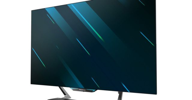 Acer is launching three new Predator monitors, including a giant 55-inch model