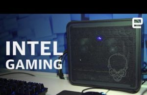 Intel gaming with Ghost Canyon NUC and Tiger Lake at CES 2020 –