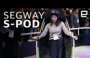 Segway's S-Pod hands-on at CES 2020 –