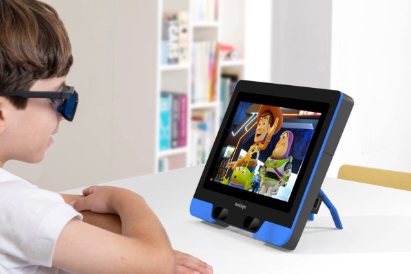 Kids with lazy eye can be treated just by letting them watch TV on this special screen