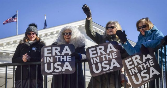Virginia moves to brink of becoming 38th state to ratify Equal Rights Amendment
