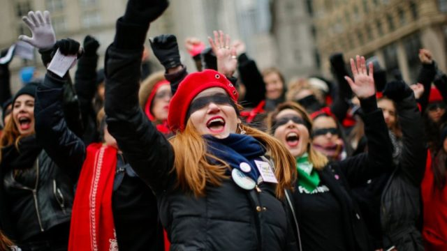 Thousands gather for Women's March rallies across the US