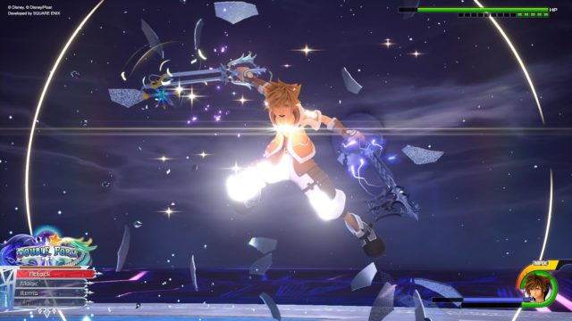 New Kingdom Hearts III Re Mind screenshots added to the portal site; Double Form, slideshow function, data greeting and premium menu info added