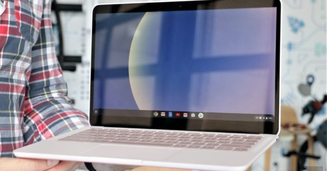 Google's Pixelbook Go is finally available in 'Not Pink'