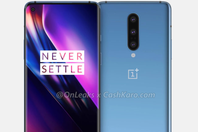 OnePlus 8 Pro live photo shows the refresh rate choices that users will have