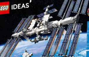 Lego sent new International Space Station set into the stratosphere
