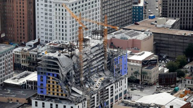 Remains exposed months after New Orleans hotel collapse