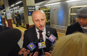 Why would anyone take over after Andy Byford fled the MTA?