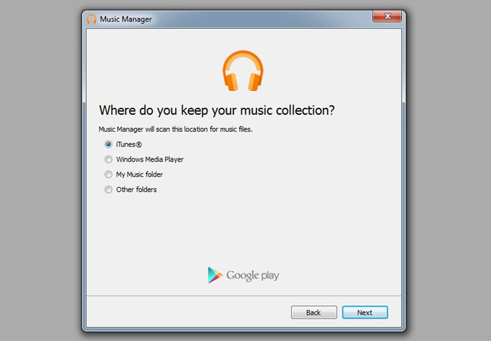 iPhone to Android switch - Google Music Manager app