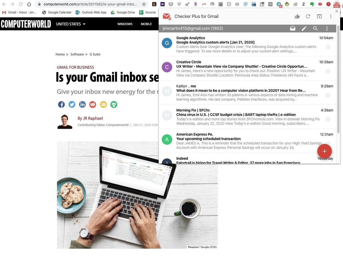 best chrome extensions checker plus for gmail