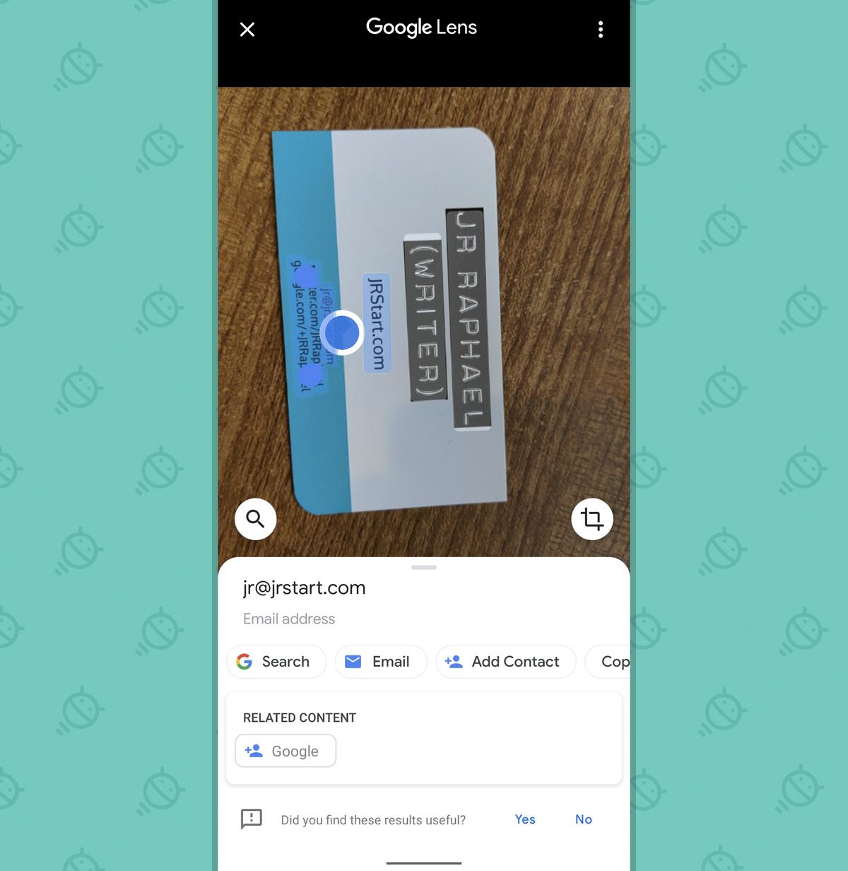 Google Pixel Features: Lens