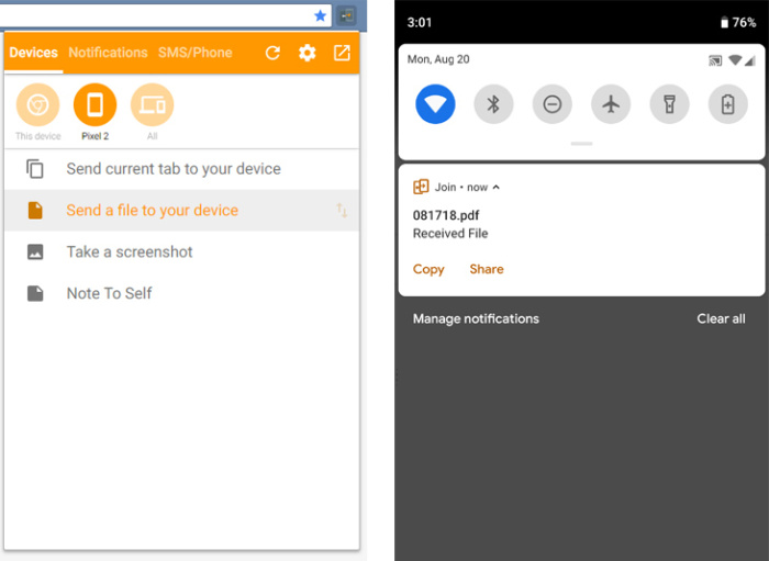 android file management join app