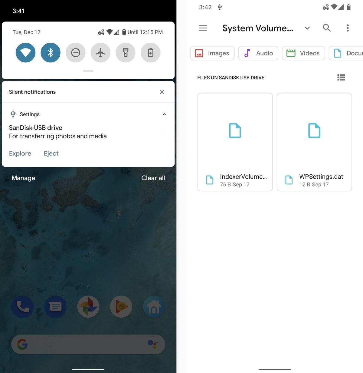 android file management usb otg