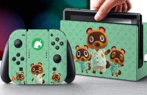 Embrace Island Life With Officially Licensed Animal Crossing: New Horizons Switch Skins