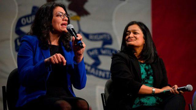 Rashida Tlaib walks back boos aimed at Hillary Clinton at event for Sanders' campaign