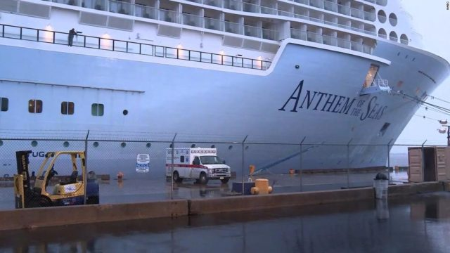 Passengers on cruise ship docked near New York City will be assessed for coronavirus, CDC official says