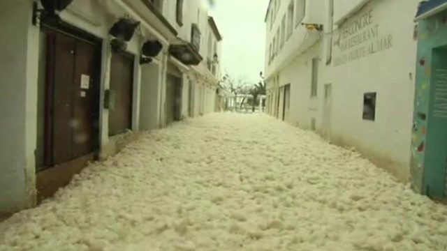What is sea foam? What to know about when oceans get rough
