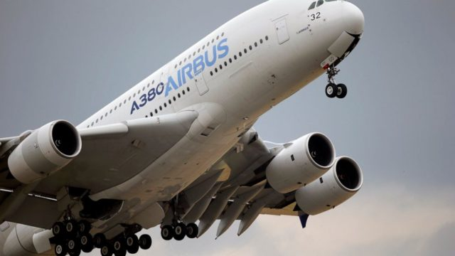 Airbus shows loss for 2019 due to big bribery settlement
