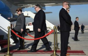 Pompeo makes 1st trip to Africa in bid to reassert US as leading partner