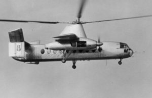 The Fairey Rotodyne, the vertical take off and landing airliner time forgot