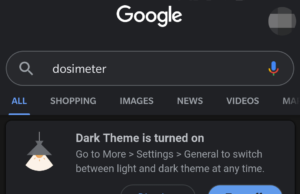 The Google app's dark mode should now be available to all beta users