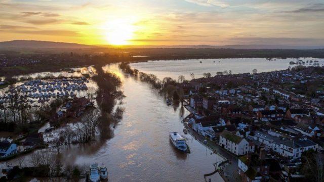 UK issues severe flood alerts as storm-swollen rivers surge