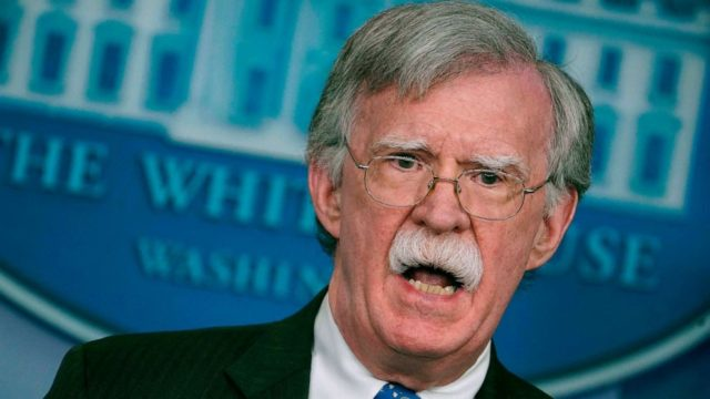 John Bolton criticizes White House 'censorship' ahead of his planned book release