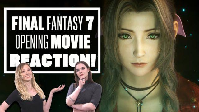 Final Fantasy 7 Remake Opening Movie Reaction