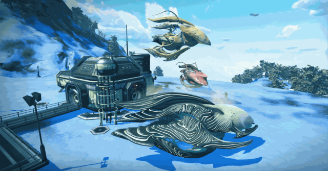No Man's Sky's latest update lets you hatch a spaceship