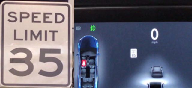 Tesla Autopilot gets tricked into accelerating from 35 to 85 mph with modified speed limit sign