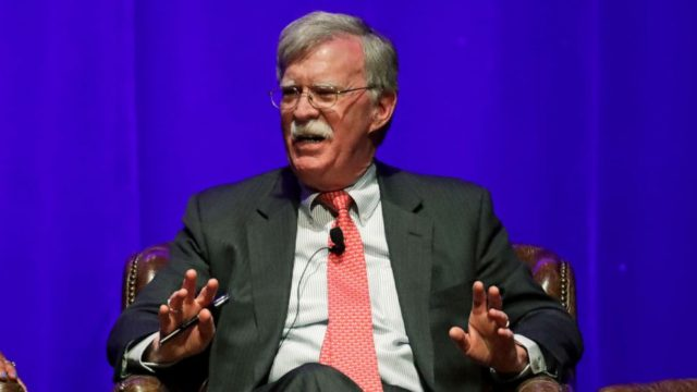 John Bolton defends decision not to share Ukraine information ahead of book release