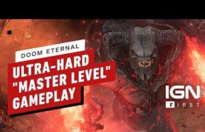 DOOM Eternal: 9 Minutes of Master Level Gameplay (4K 60FPS)