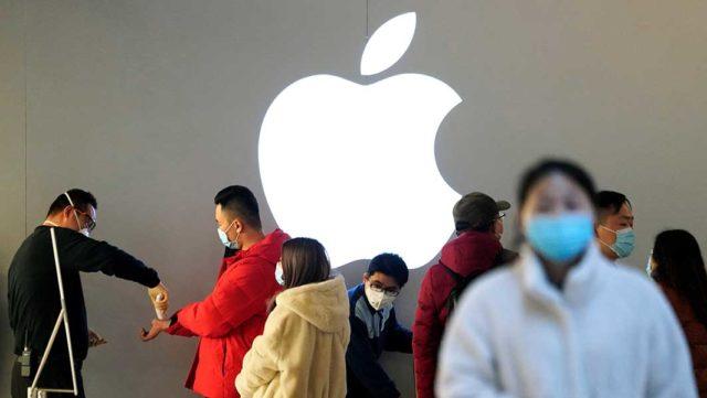Apple Stock, Other Techs Fall As Coronavirus Outbreak Spreads