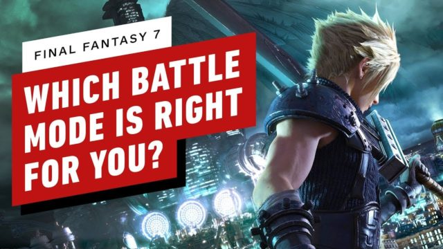 Final Fantasy 7 Remake: Should You Play in Classic or Normal Battle Mode?
