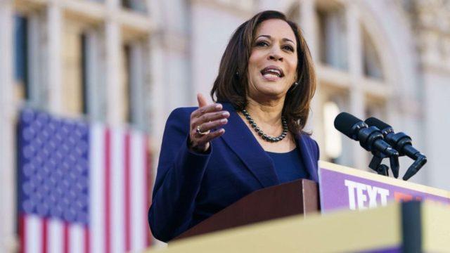 Kamala Harris endorses Joe Biden, the 9th former rival to back his presidential bid