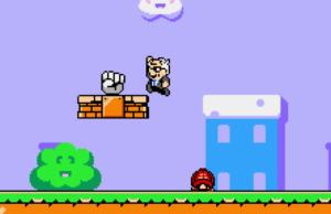 Play Super Bernie World, Bop MAGA Goombas