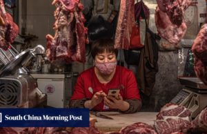China's February pork prices jumped 135 per cent as inflation remained high