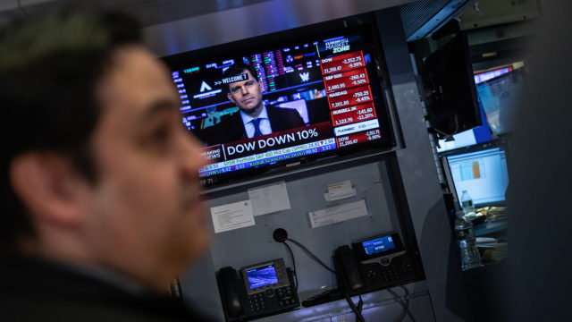 Why the Dow is at risk of the worst week in its 124-year history as coronavirus fear grips Wall Street