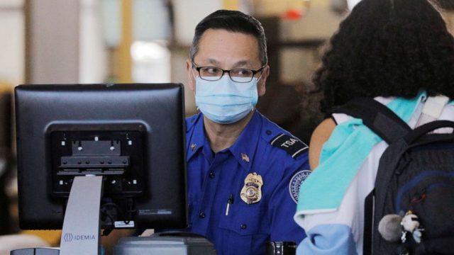 TSA officers need more protection amid coronavirus outbreak, union says