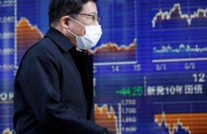Global stocks drop as investors shun risk on coronavirus fears